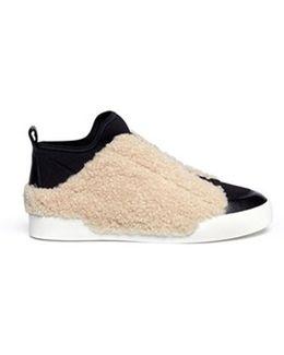 Morgan Hi Top Sneaker Natural