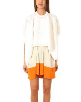 Asymmetrical Short Sleeve Pullover