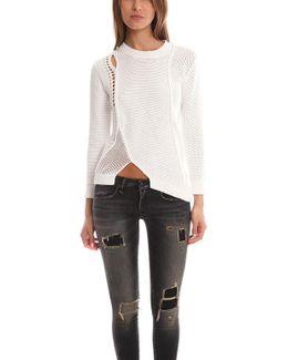 Long Sleeve Asymmetric Pullover