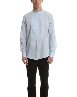 Massmio Alba Priest Collared Shirt
