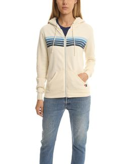 5 Stripe Zip Hoody
