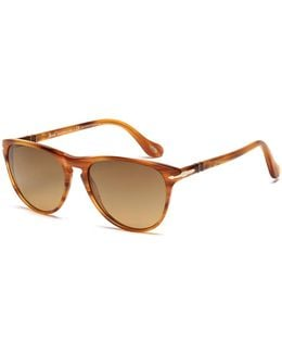 Striped Brown 3038s 960/81 Sunglasses