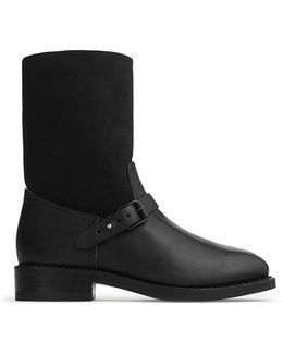 Oliver Leather Ankle Boots