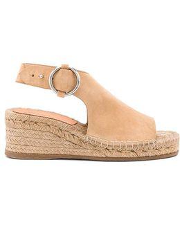 Calla Wedge Sandal