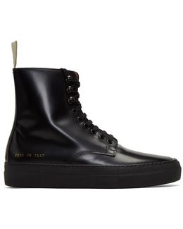 X Common Projects Combat Boot