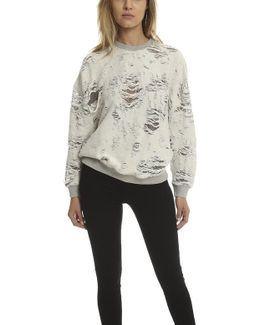 Dayna Holey Sweatshirt