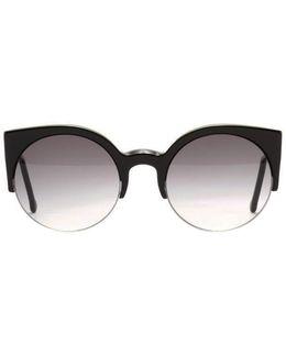 Super Sunglasses Lucia Black