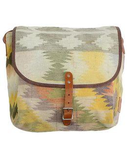 Wills Leather Goods Dhurrie Messenger Bag
