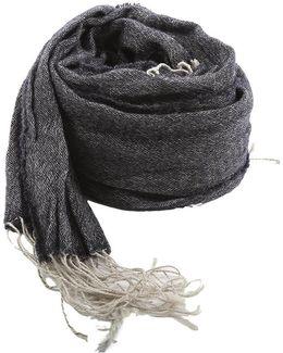Wool Linen Scarf