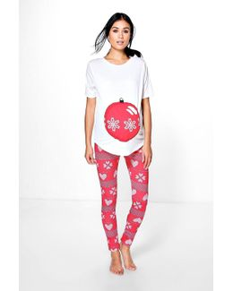 Maternity Vera Christmas Pyjama Set