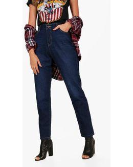 Jade High Waist Indigo Mom Jeans