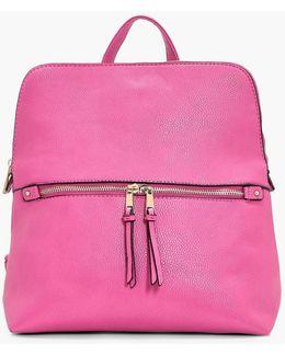 Lucy Zip Pocket Rucksack