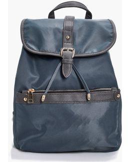 Millie Nylon Pocket Rucksack