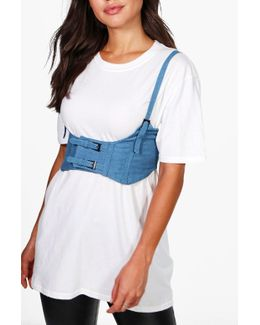 Daisy Double Buckle Strappy Corset Belt