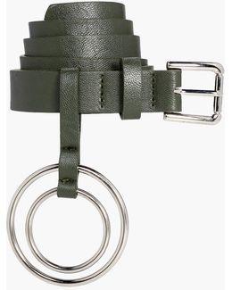 Lexi Double Circle Ring Detail Belt
