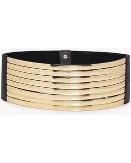Erin Metallic Layered Waist Belt