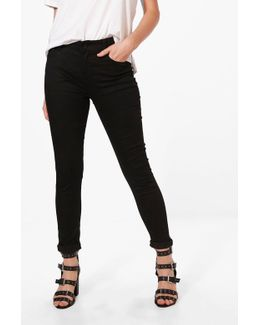Helena Mid Rise Skinny Jeans