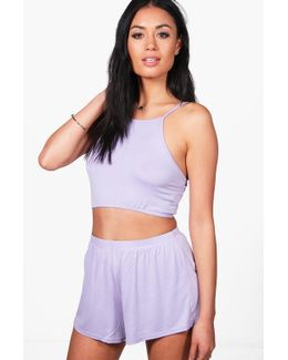 Amelia Strappy Crop & Shorts Co-ord Set