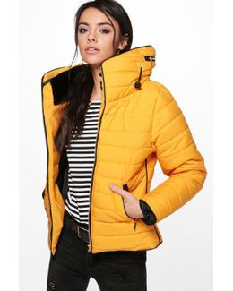 Sara Quilted Padded Jacket