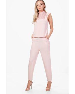 Lily Skinny Pocket Trouser