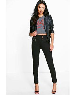 Sophia Super Stretch Highwaist Skinny Trousers