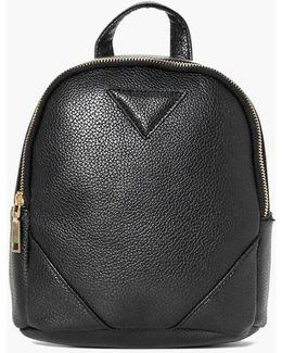 Charlotte Zip Detail Mini Rucksack
