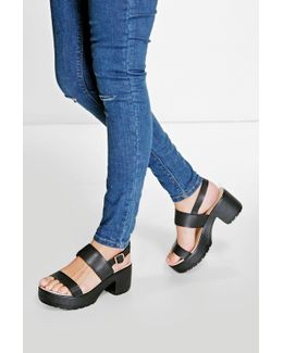 Ella Two Part Cleated Sandal