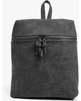 Charlotte Zip Detail Backpack