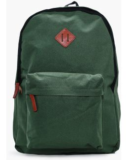 Plain Canvas Backpack