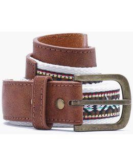 Aztec Woven Belt