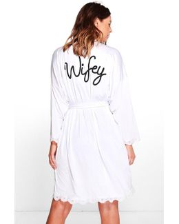 Imogen Wifey Bridal Robe