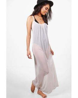 Petite Annie Oversize Maxi Dress Cover Up