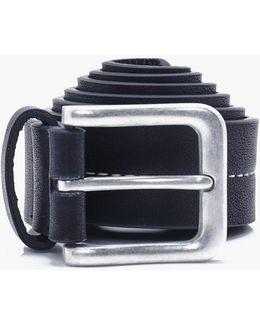 Stud Stitch Pu Belt