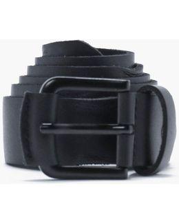 Distressed Pu Belt