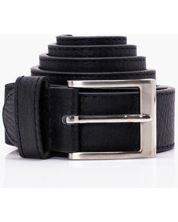Big And Tall Black Adjustable Belt