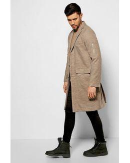 Wool Look Ma1 Overcoat