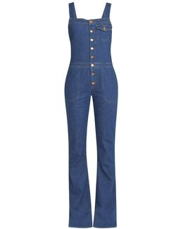 Dix Flared Dungarees