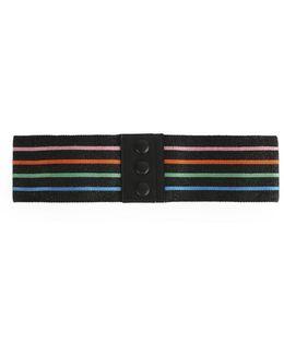 Stripe Lurex Belt