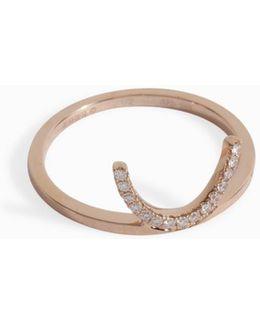 Smile Diamond Ring