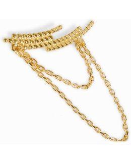 Crescent Chain Ear Cuff - Right