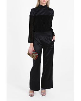 Mason Satin Wide Trousers