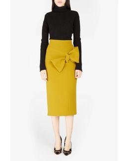 Maida Bow-detailed Skirt