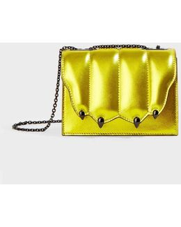 Metallic Mini Chain Bag
