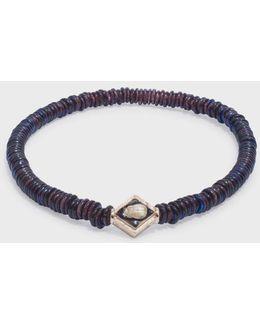 Evil Eye Enamelled Lozenge Bracelet