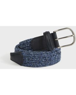 Multi Woven Speckled Belt