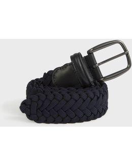 Weave Plain Belt