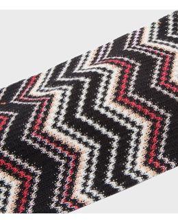 Zigzag Knit Headband
