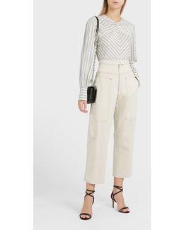 Paden High-rise Cotton-blend Jeans