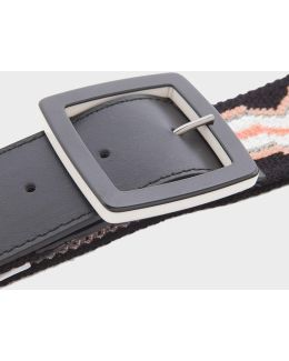 Skinny Greco Stripe Belt