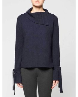The Agna Tie Pullover